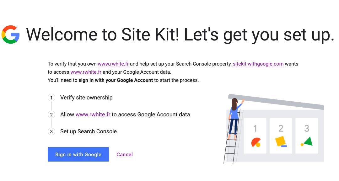 Comment installer Google Site Kit  sur WordPress ?